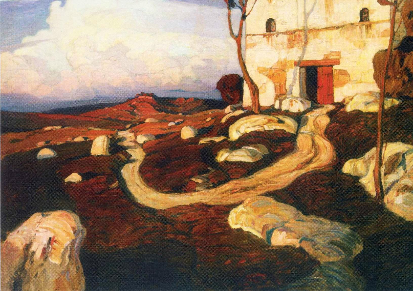 внешность вряд картины богаевского фото с названиями широко использовались для